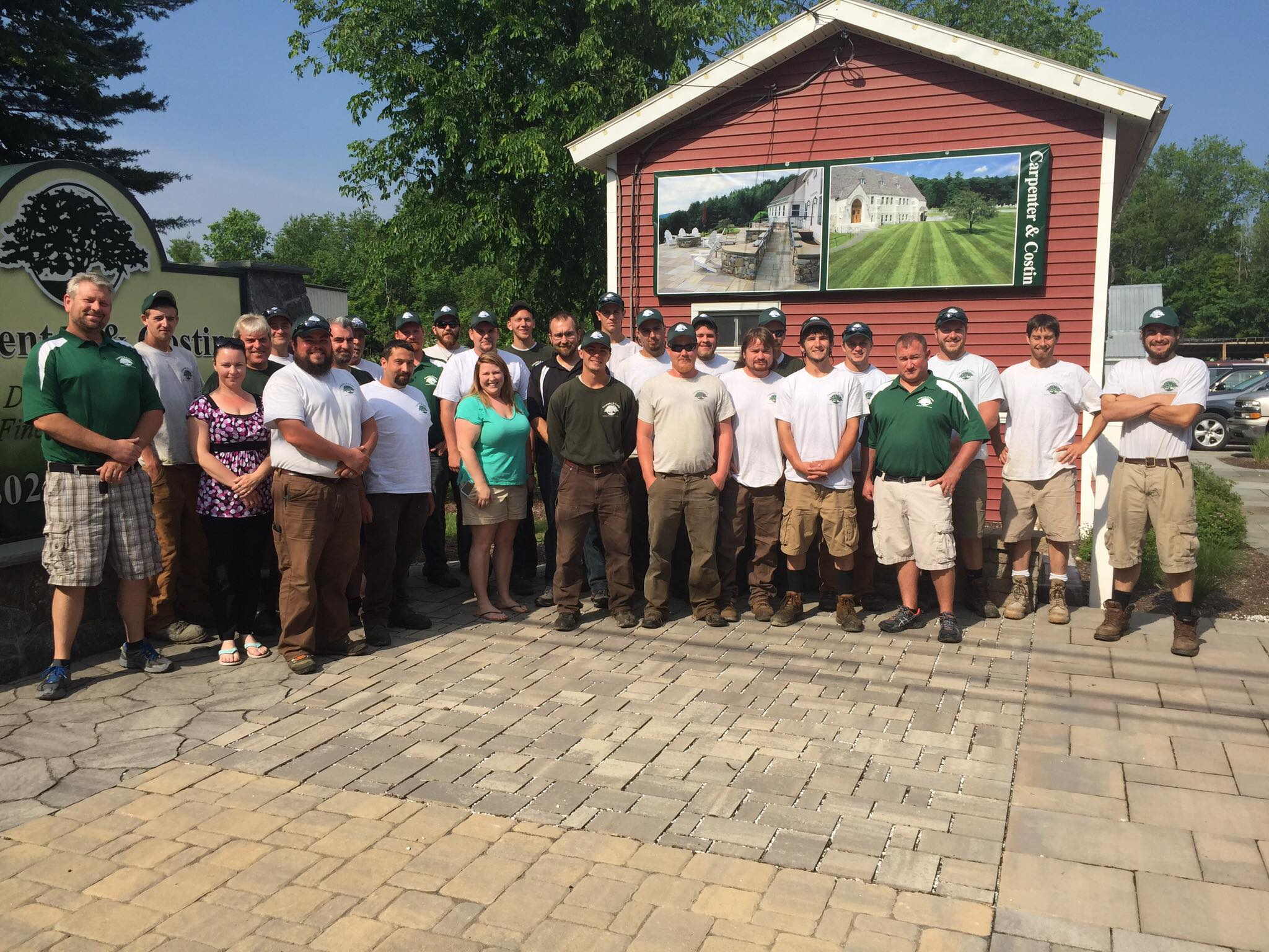 Carpenter & Costin, Rutland VT, Landscape Designers and Commercial Landscape Maintenance snowplowing