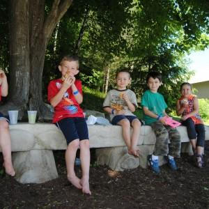 Kids Hot Dogs Outdoors Rutland VT Carpenter & Costin