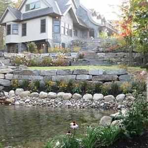 Pondview Stonework Rutland VT Carpenter Costin