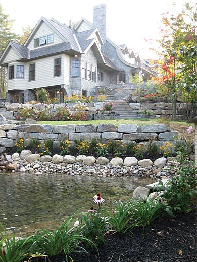 Pondview Stonework Rutland VT Carpenter Costin