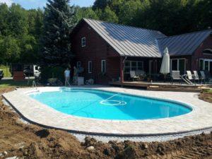 Belgard Pool Deck Carpenter Costin Rutland VT