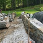 Stone Retaining Wall Carpenter Costin Rutland VT
