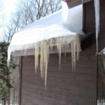 Ice Dams Cause Roof Leaks Raking by Carpenter & Costin
