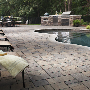 Belgard, Rutland VT, pool deck, Carpenter & Costin, Patio