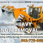 Snow removal you can count on by Carpenter & Costin, Rutland VT