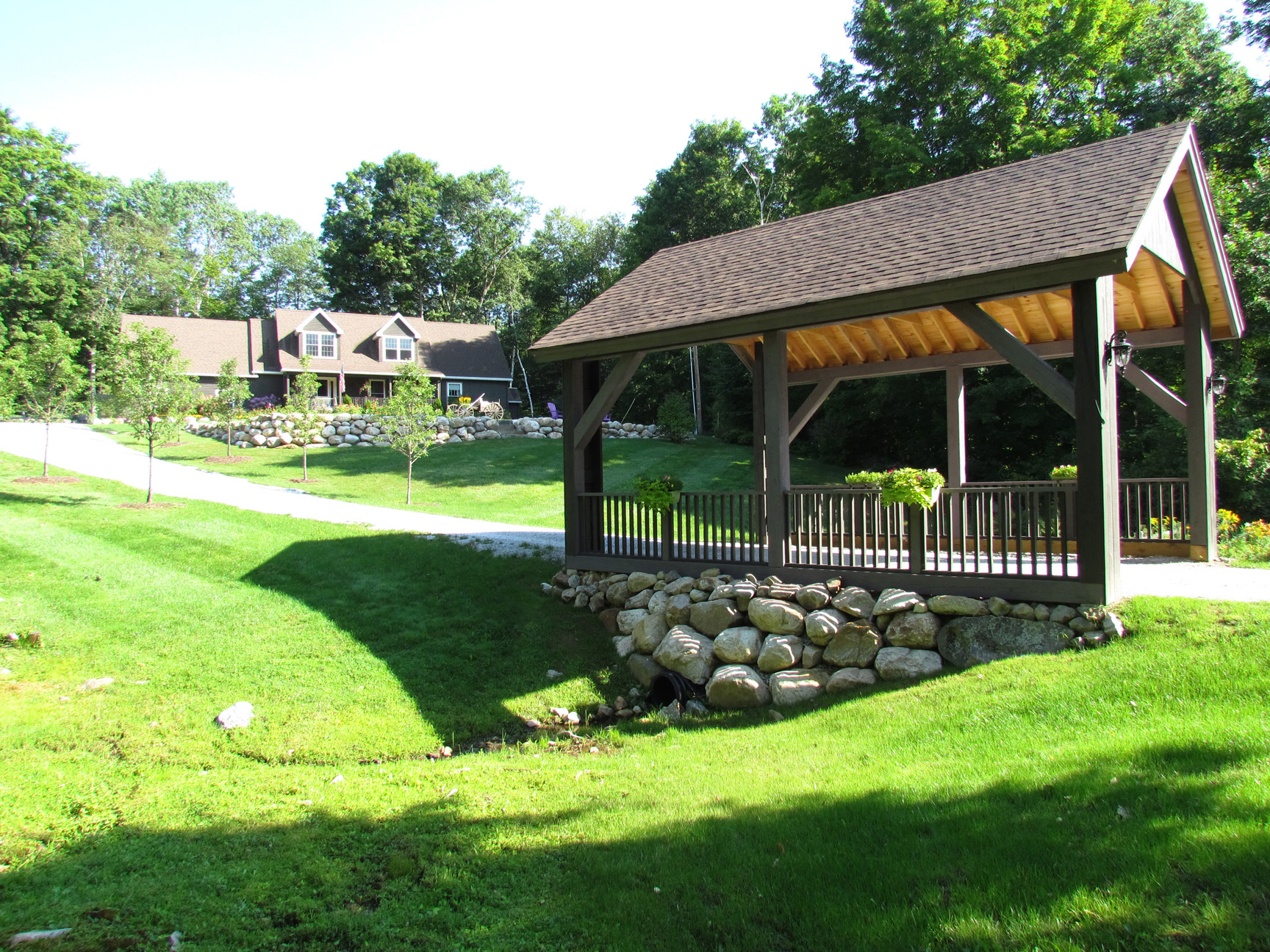 Covered bridges say welcome home by Carptner & Costin