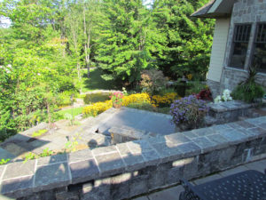 Stone Terraces and hot tub surrounds