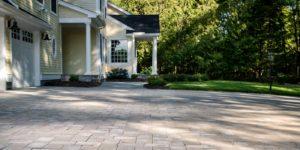 Heated driveway pavers